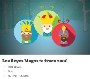 Los reyes magos te traen 200€ en Paf