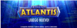 Gran sorteo Atlantis con 500 premios de 5€ cada uno en Botemania