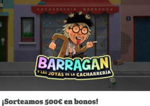 ¡Sorteamos 500€ en bonos!en Paf
