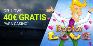 Mr.Love 40€ gratis para casino Luckia