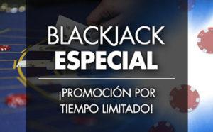 Blackjack promocion especial de la noche en Sportium
