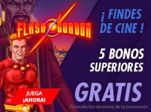 Findes de cine,5 bonos superiores gratis en Suertia