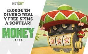 5.000€ en dinero real y free spins a sortear Money Tree en Wanabet