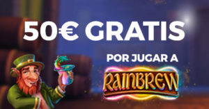 50€ gratis para Rainbrew en casino Paston