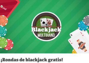Rondas de blackjack gratis en Paf